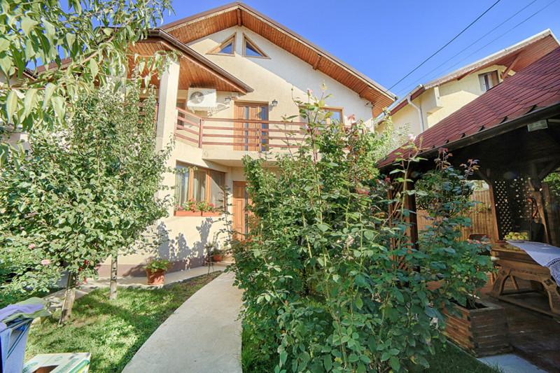 Vila moderna, finisaje lux, 6 camere, 240 mp, la 5 min.de Cora Pantelimon