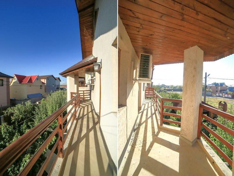 Proprietate speciala, vila moderna, 240 mp, curte, la 5 min.de Cora Pantelimon