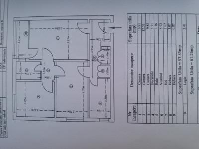 Apartament circular 9/10 , bloc monolit cu doua lifturi , neamenajat