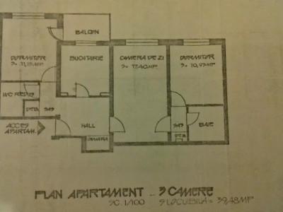 Apartament cf 1 sdc  8/8 ,bloc 1982 ,2 grupuri sanitare , comision 0%