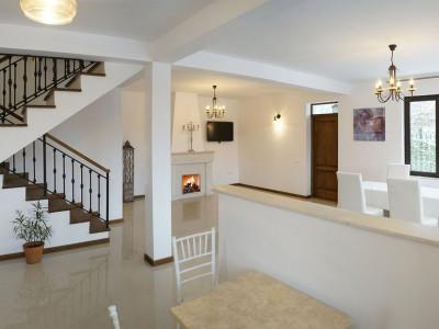 Straulesti, vila moderna, 4 camere, 120 mp, mobilata/ utilata, curte proprie