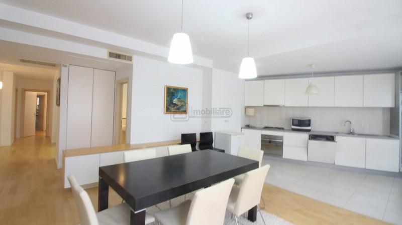 Parcul Herastrau, apartament mobilat lux, 134 mp, loc parcare, terasa 83 mp