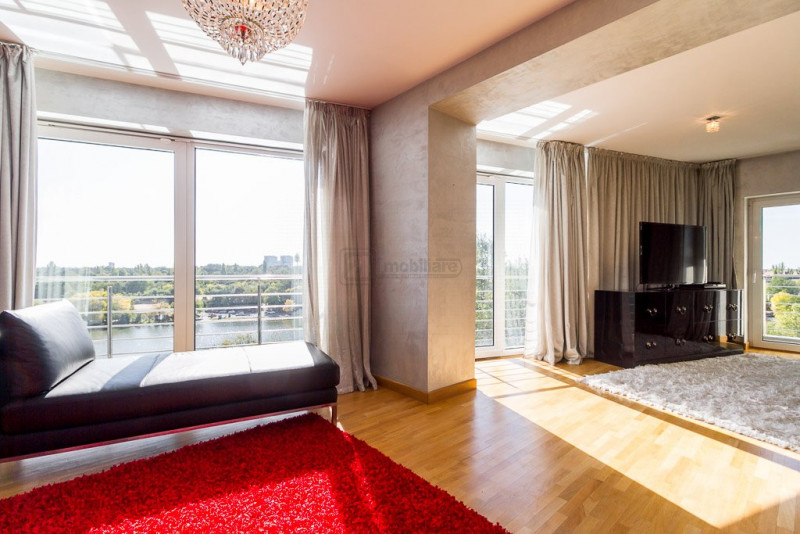Unique Sale -196sqm, 3 room apartment, Amazing Lake View, Herastrau -Nordului