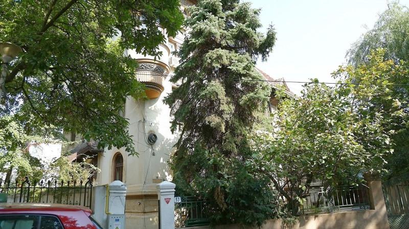 Kiseleff, vila stil neoromanesc, suprafata 490 mp, teren 619 mp, strada unica
