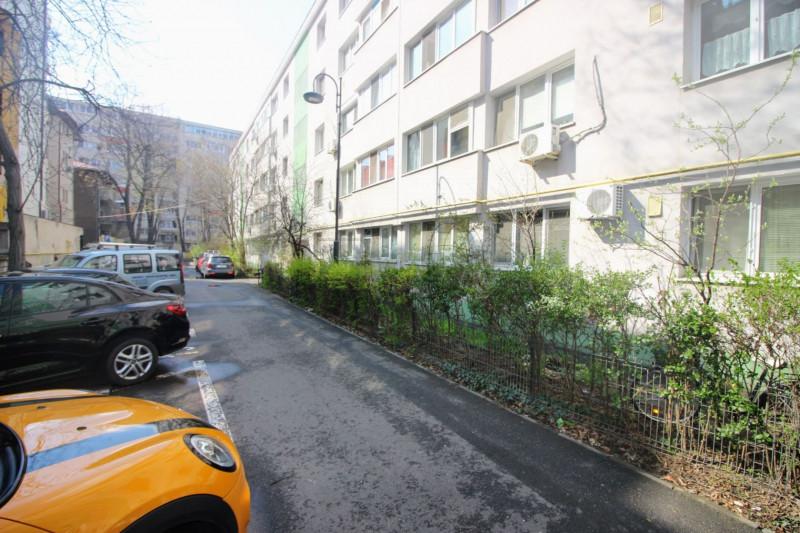 Dorobanti - Londra, apartament 2 camere, etaj 1/4, zona verde, vedere gradina